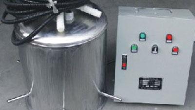 水箱自洁消毒装置
