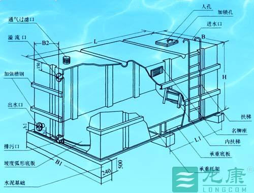 消防水箱结构图