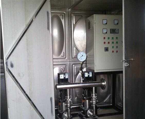 泵箱一体化